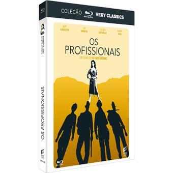 Os Profissionais - Coleção Blu-ray Very Classics