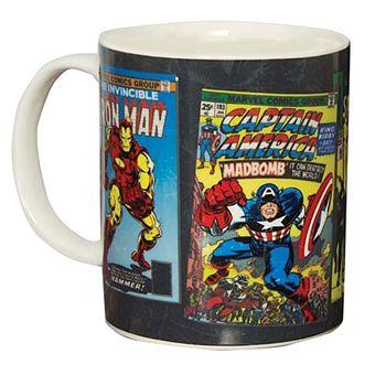Caneca Termosensível Marvel - Heroes