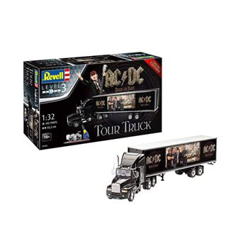 Kit Modelismo Revell  AC/DC - Tour Truck and Trailer