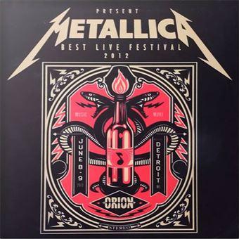 Metallica: Best Live Festival 2012 - LP