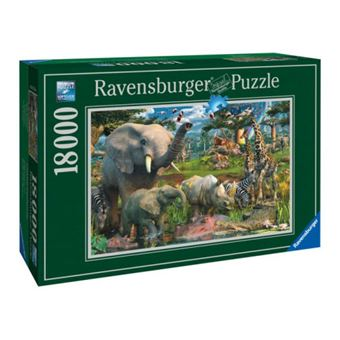 Puzzle no lago 18000pcs