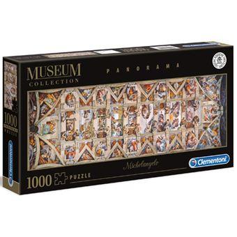 Puzzle Volta Della Cappella Sistina - 1000 Peças - Clementoni