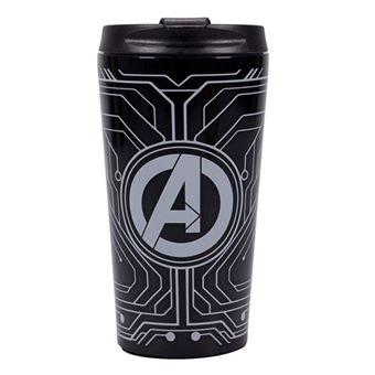 Copo de Viagem Metálico Marvel Avengers