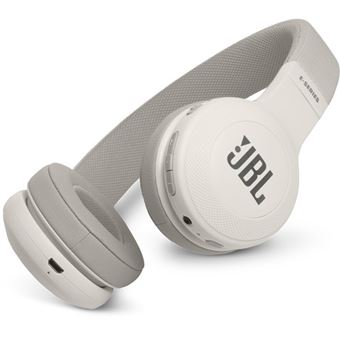 Auscultadores Bluetooth JBL E45BT - Branco