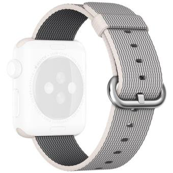 Apple Bracelete Nylon para Apple Watch 38mm (Pérola)