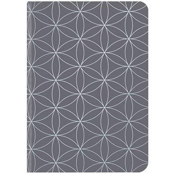 Caderno Liso TeNeues GlamLine Grey & Silver A5