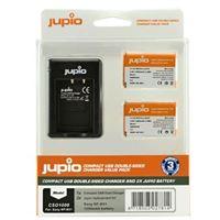 Kit 2x Baterias + Carregador Jupio Sony NP-BX1