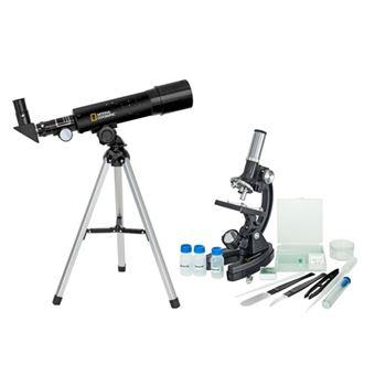 Kit Telescópio e Microscópio - National Geographic