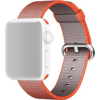 Bracelete Nylon Apple para Apple Watch 38mm - Laranja Sideral | Antracite
