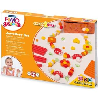 Massa de Modelar Fimo Kids - Jewellery Flowers (Nível 2)