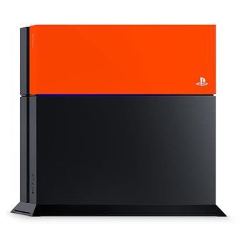 Sony PS4 Faceplate  - Neon Orange