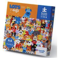 Puzzle Cães - 500 Peças - Crocodile Creek