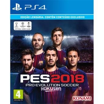 PES 2018 - Legendary Edition PS4