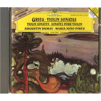Grieg: Violin Sonatas 1-3 - CD