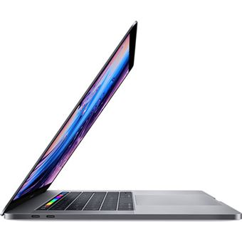 Apple MacBook Pro 15'' Retina i7-2,2GHz | 16GB | 256GB | Radeon Pro 555X com Touch Bar e Touch ID - Cinzento Sideral