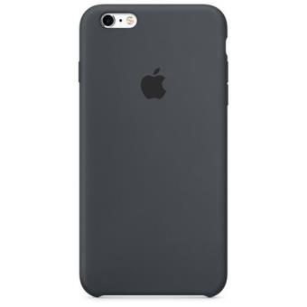 Apple Capa Silicone para iPhone 6s/6 (Cinzento Carvão)