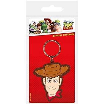 Porta-Chaves de Borracha Disney Toy Story: Woody