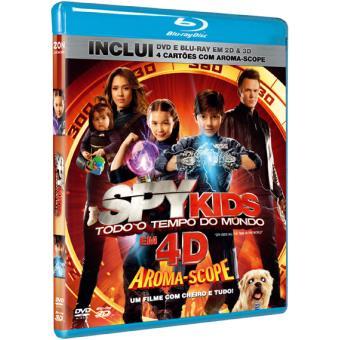 Spy Kids - Todo o Tempo do Mundo (Blu-ray 4D)