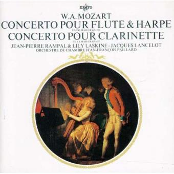 Mozart: Concerto pour Flute & Harpe; Concerto pour Clarinette