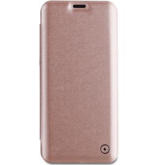 Capa Flip Muvit para Galaxy S9 - Rose Gold