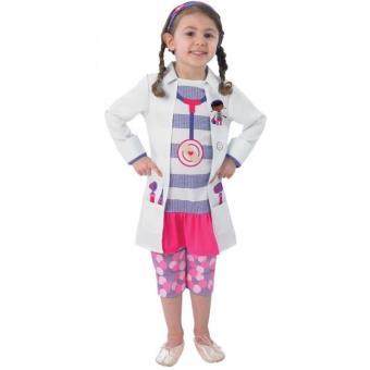 Disfarce Doutora Brinquedos (Tamanho T 12 a 24 meses)