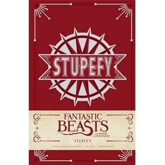 Caderno Pautado Harry Potter - Fantastic Beasts - Stupefy A5