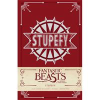 Caderno Pautado Harry Potter - Fantastic Beasts - Stupefy A5