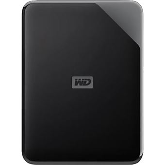 Disco Rígido Externo Western Digital Elements SE - 2TB - Preto