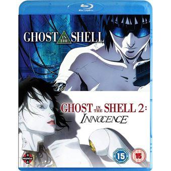Ghost in the Shell 1-2 - Blu-ray Importação