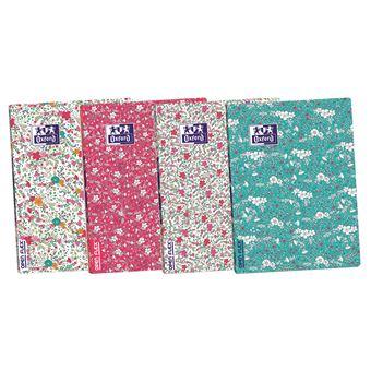 Caderno Pautado Oxford Openflex Floral A4 - Envio Aleatório