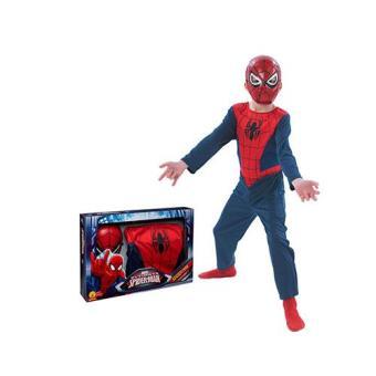 Disfarce Homem-Aranha (Spiderman) (Tamanho L 7 a 9 Anos)