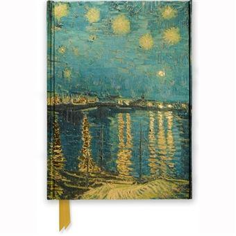 Caderno Pautado Flame Tree - Van Gogh Starry Night over the Rhone