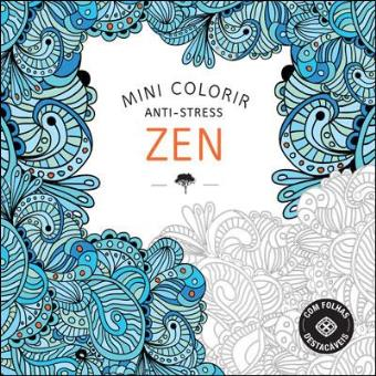 Mini Colorir Anti-Stress - Zen