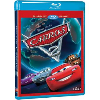 Carros 2 (Blu-ray 3D + 2D)