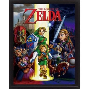 Poster 3D Lenticular The Legend of Zelda