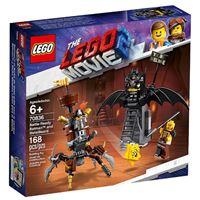 LEGO Movie 2 70836 Batman e Barbas de Ferro Prontos para o Combate