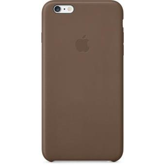 Apple Tampa Pele Castanho para iPhone 6s Plus/6 Plus