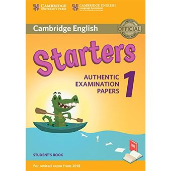 Cambridge English Starters 1 - Student's Book