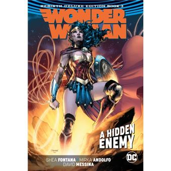 Wonder woman: the rebirth deluxe ed
