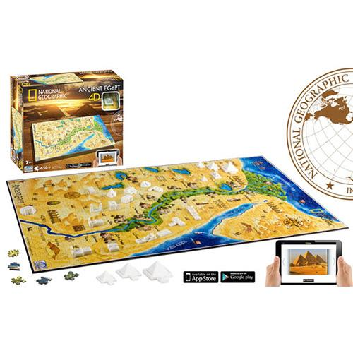 Puzzle 4D National Geographic