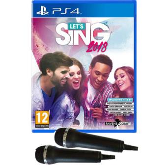 Let's Sing 2018 + 2 Micro PS4