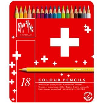 Caixa 18 Lápis de Cor Swisscolor