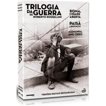 Trilogia da Guerra de Roberto Rossellini