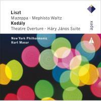 Kurt Masur conducts Kodály & Liszt - CD