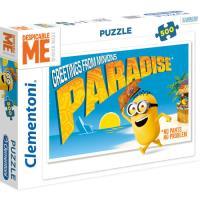 Puzzle Greetings From Minions - 500 Peças - Clementoni 7044b3b9affae