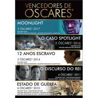 Pack Vencedores do Óscar de Melhor Filme - Coleção de 5 Filmes (Blu-ray)