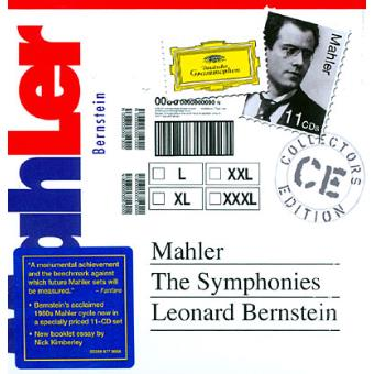 MAHLER-THE SYMPHONIES (11CD) (IMP)