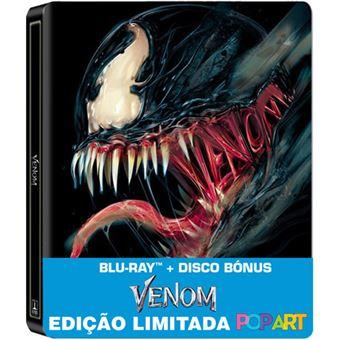 Venom - Edição Especial Steellbook - 2 Blu-ray
