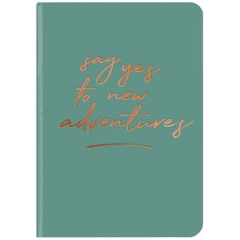 Caderno Liso TeNeues GlamLine Adventures A5