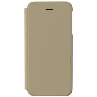 Capa Samsung Flip Wallet para Galaxy J4+ - Dourado